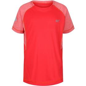 Regatta Dazzler II Shortsleeve Shirt Children red